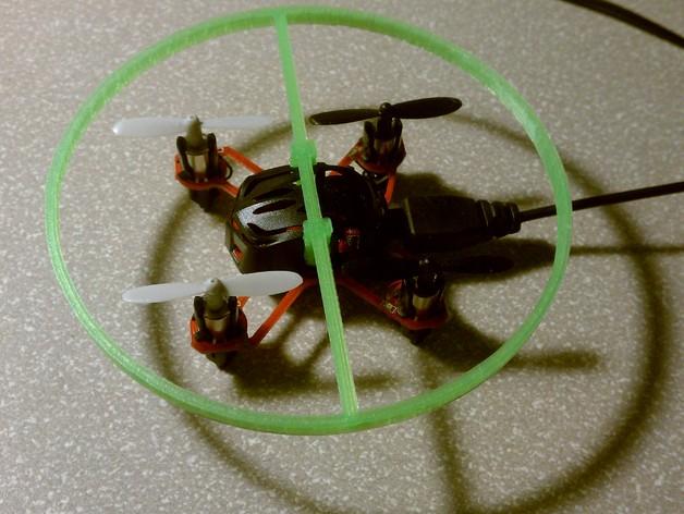 Estes Proto X四轴飞行器 保护环  3D打印模型渲染图