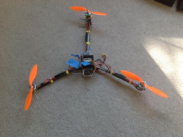 FrSky V8FR-II 接收机V字形天线架