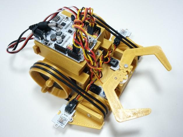 PrintBot防昆虫机器人 3D打印模型渲染图