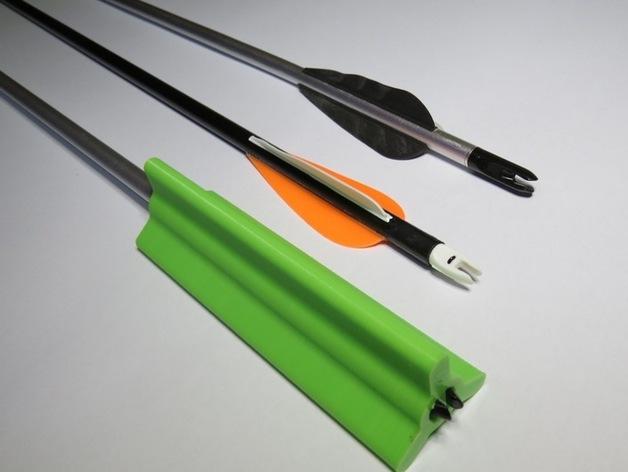 箭羽保护器 3D打印模型渲染图