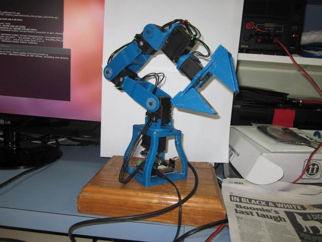 机械臂 3D打印模型渲染图