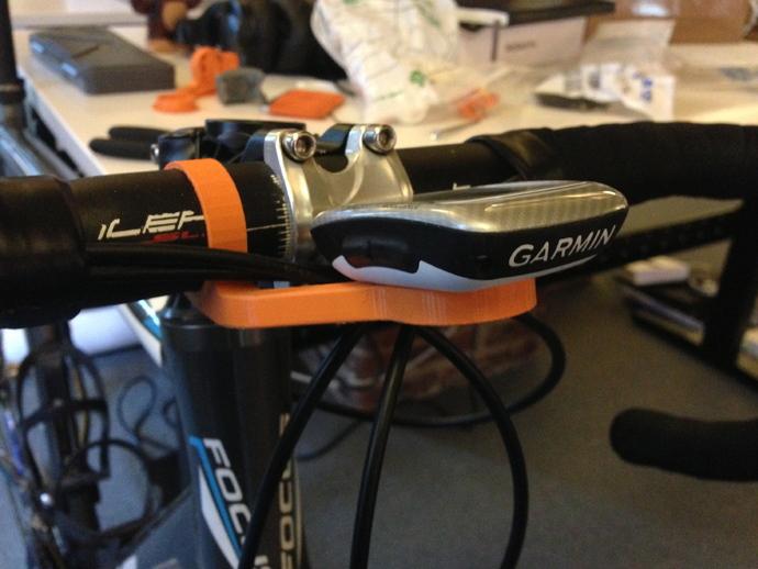 越野自行车把手GPS支架