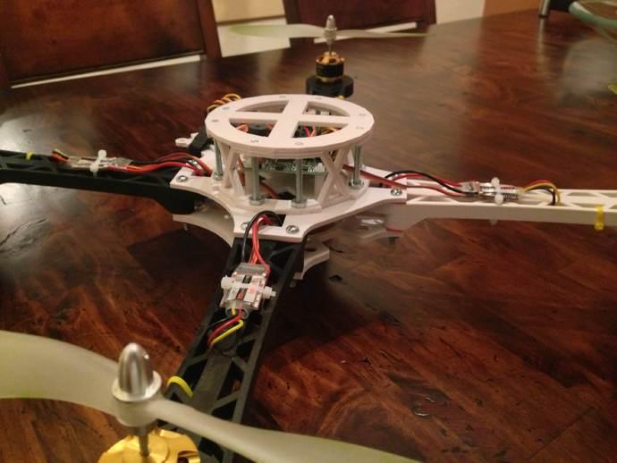 3D打印四轴飞行器