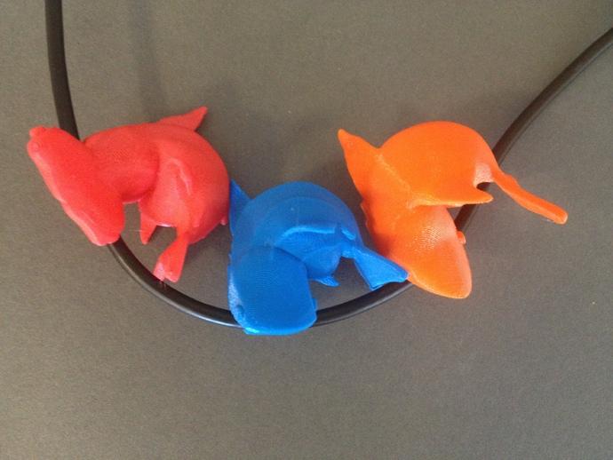 小鲨鱼 线缆夹