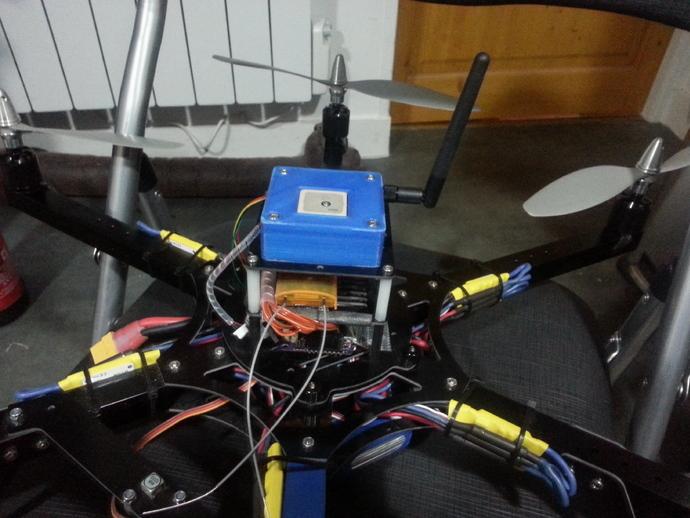 GPS和无线电小盒