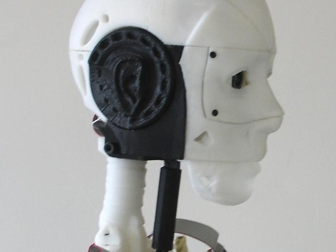 InMoov机器人耳部