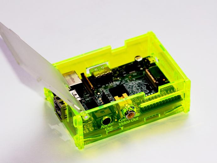 Adafruit树莓派外壳 3D打印模型渲染图
