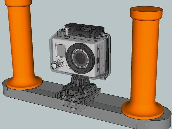 潜水GoPro相机手柄