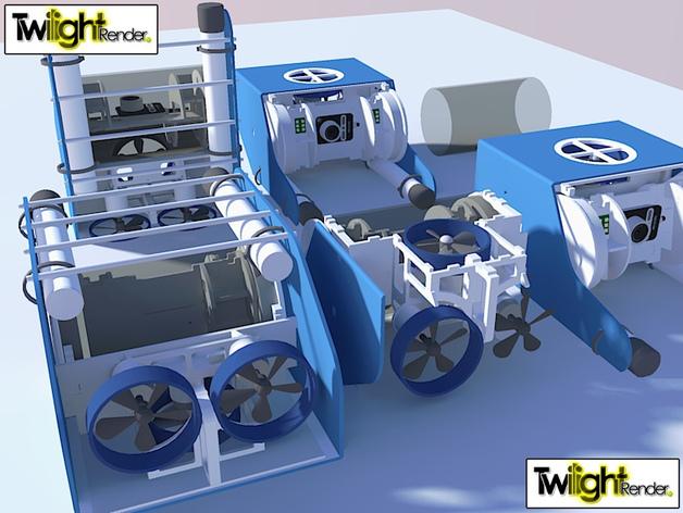 OpenROV水下机器人