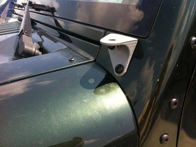 吉普车挡风玻璃雨刷支架