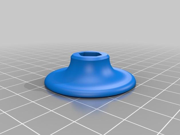 Neo-7M GPS模块底板 3D打印模型渲染图