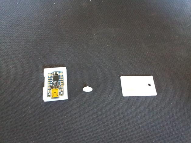 微处理器外壳 3D打印模型渲染图