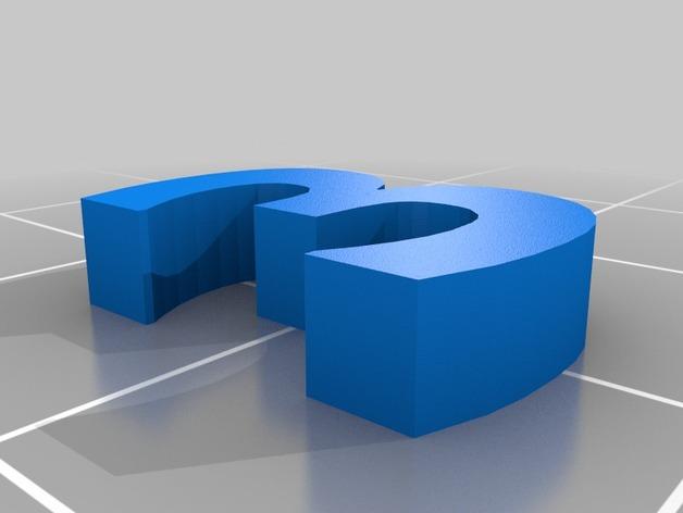 英文字母和数字模型