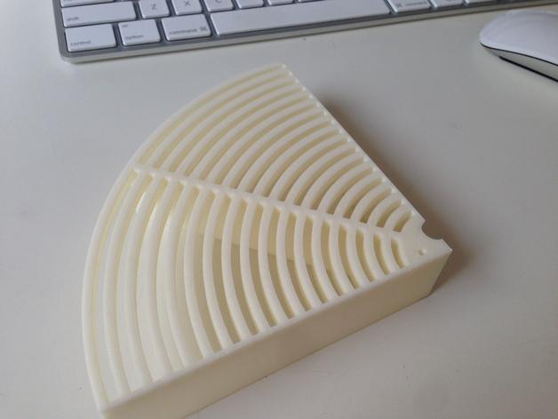 水桶 挡板 3D打印模型渲染图