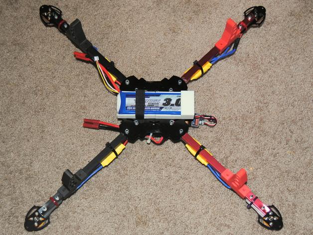 四轴飞行器 电池盒