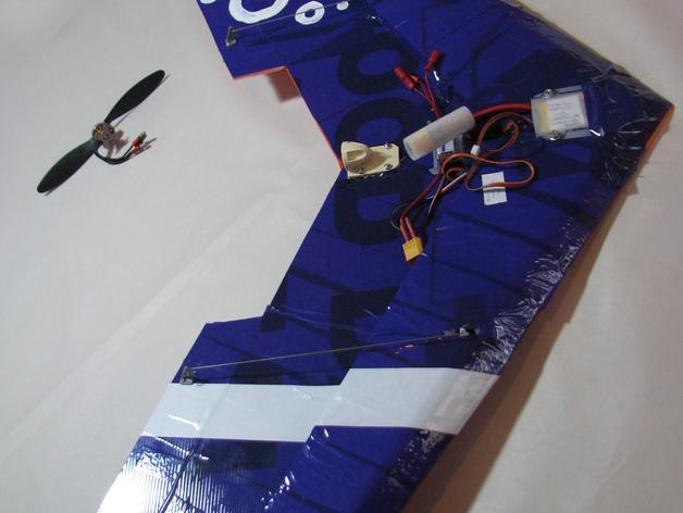三角翼  3D打印模型渲染图