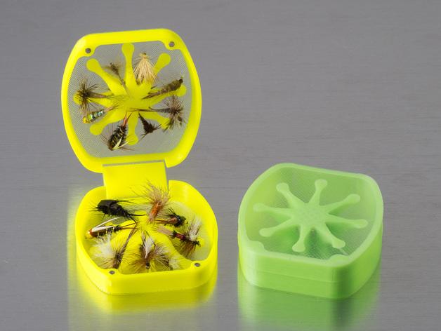 飞蝇钓道具盒
