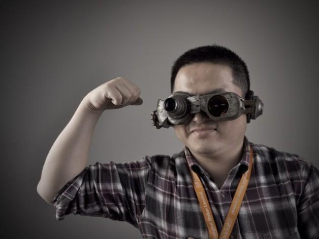 朋克风护目镜