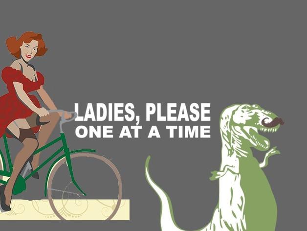 恐龙头骨 自行车车头装饰品