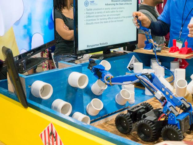 六轮驱动机器人