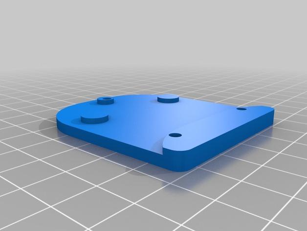 Zenmuse H3-2D常平架底板