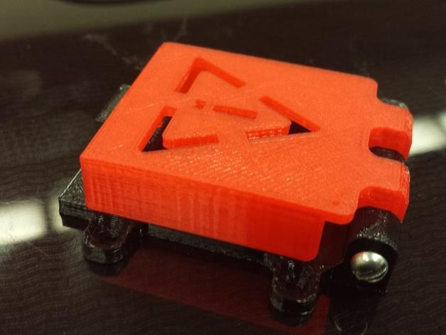 开关盖 3D打印模型渲染图