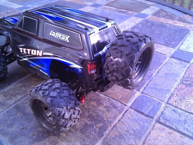 遥控赛车备用轮胎夹 3D打印模型渲染图