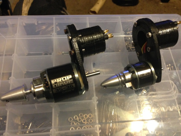 bixler2 发动机架
