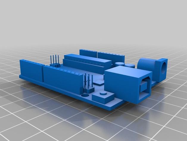 Arduino Uno电路板