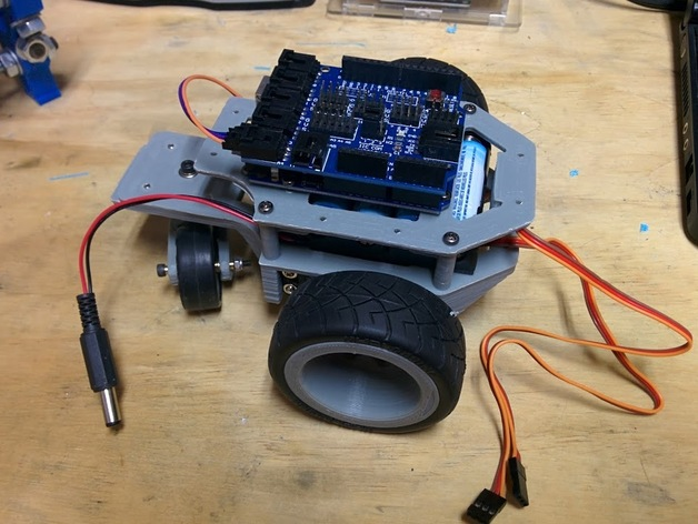 Arduino机器人底盘
