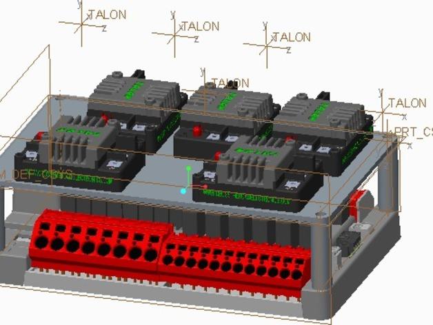 电源分配板支架