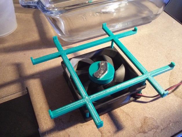 DIY磁力搅拌器 3D打印模型渲染图