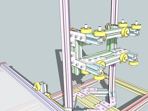 CNC设备框架