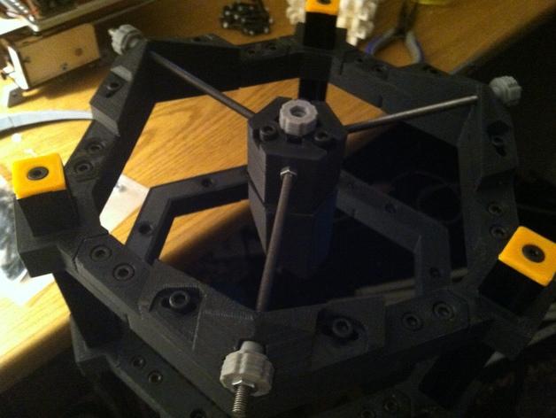 道布森望远镜 3D打印模型渲染图