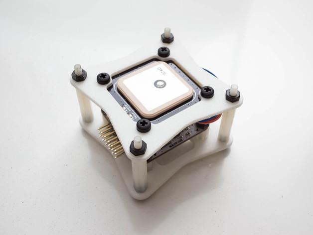 飞行控制器安装板 3D打印模型渲染图