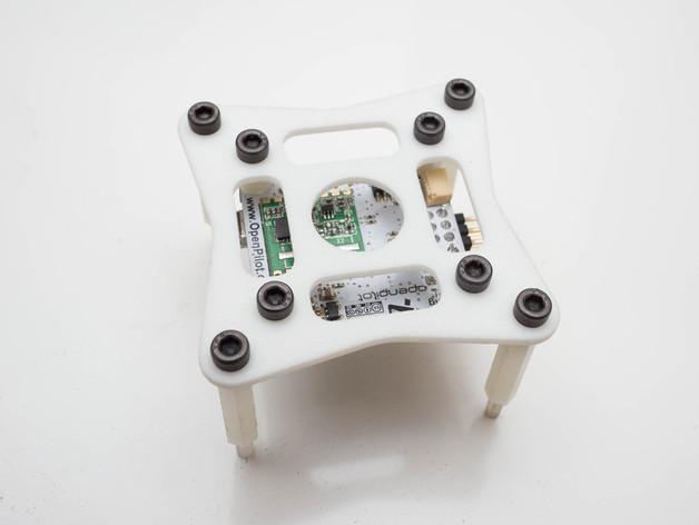 飞行控制器安装板