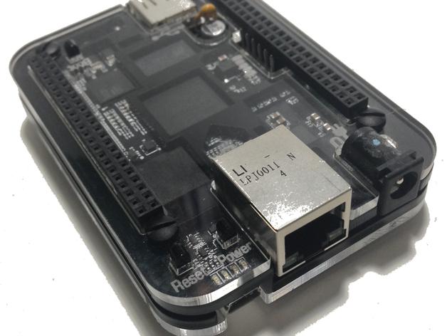 BeagleBone Black电路板外壳 3D打印模型渲染图
