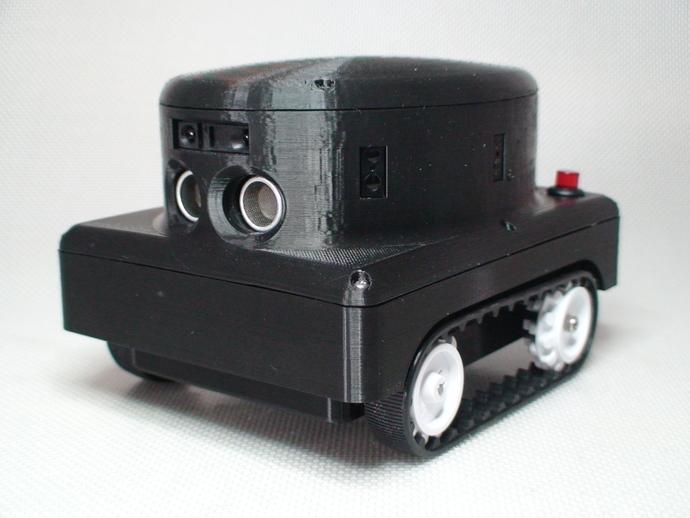 Meshbot 2履带式机器人 3D打印模型渲染图