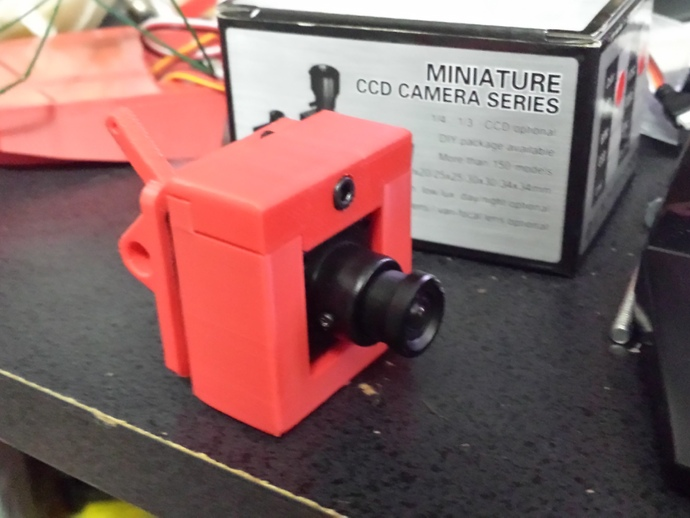 RMRC CCD相机支架 3D打印模型渲染图