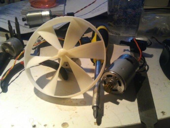 参数化螺旋桨  3D打印模型渲染图