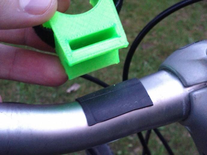 自行车手电筒支架