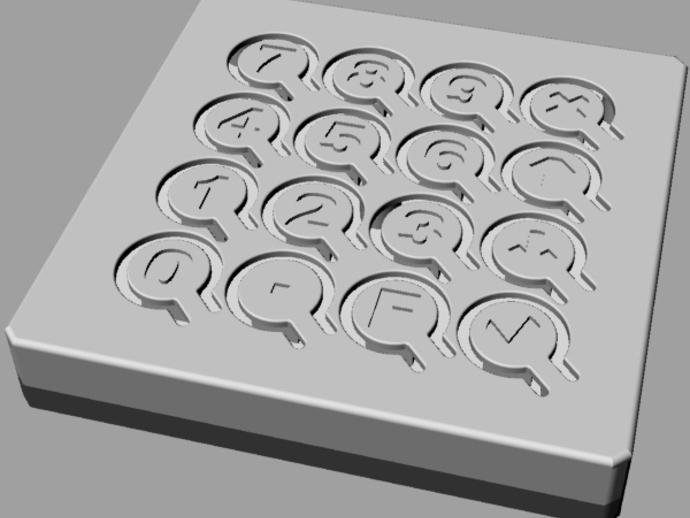 定制化键盘 排字机