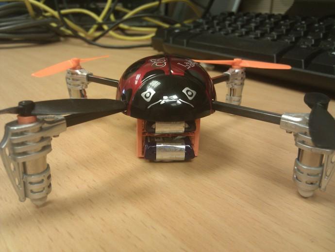 瓢虫 多轴飞行器框架 3D打印模型渲染图