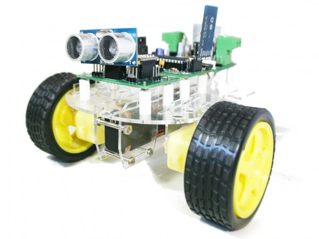 Versalino Rove 2机器人平台 3D打印模型渲染图
