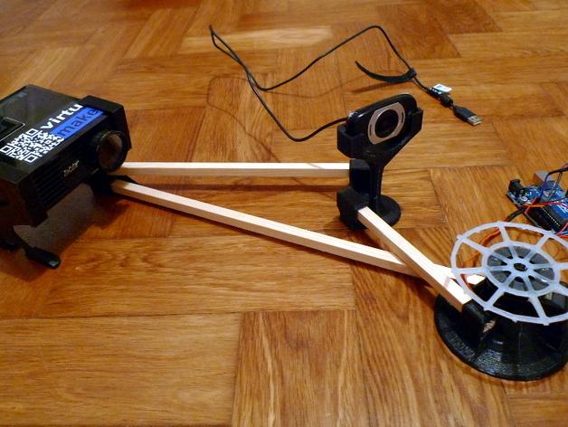 VirtuCube 3D扫描仪 3D打印模型渲染图
