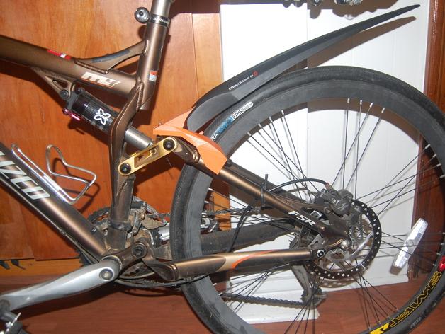 自行车后翼子板