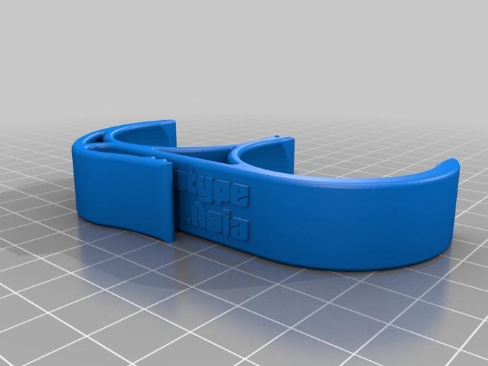 高尔夫球固定夹 3D打印模型渲染图
