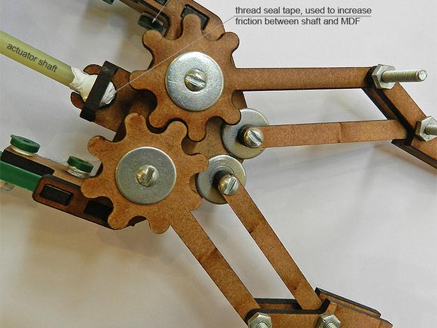 机械抓手 3D打印模型渲染图