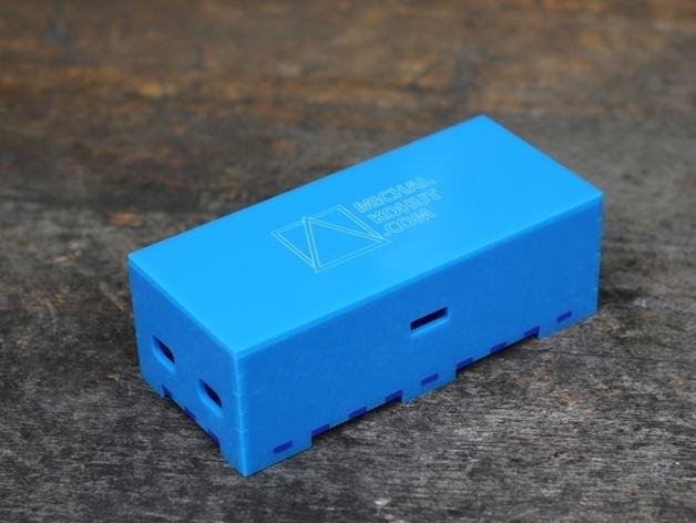 arduino试验电路板外壳