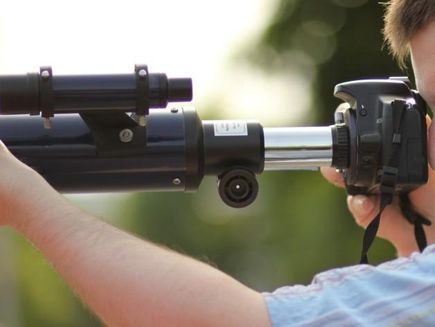 EF接环镜头聚焦器 3D打印模型渲染图